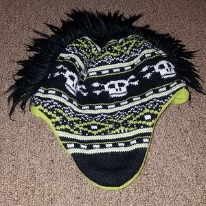 Mohawk beenie for boys